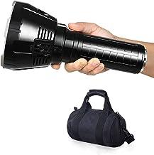 100000 Lumens, MS18 LED Glare Flashlight XHP70.2 High Power Flashlight, Met 21700 Batterij Outdoor-Grot, Patrouille, Campi...
