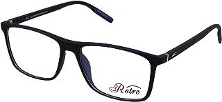 RETRO Unisex-adult Spectacle Frames Square 5501 M.Dark Blue/Black