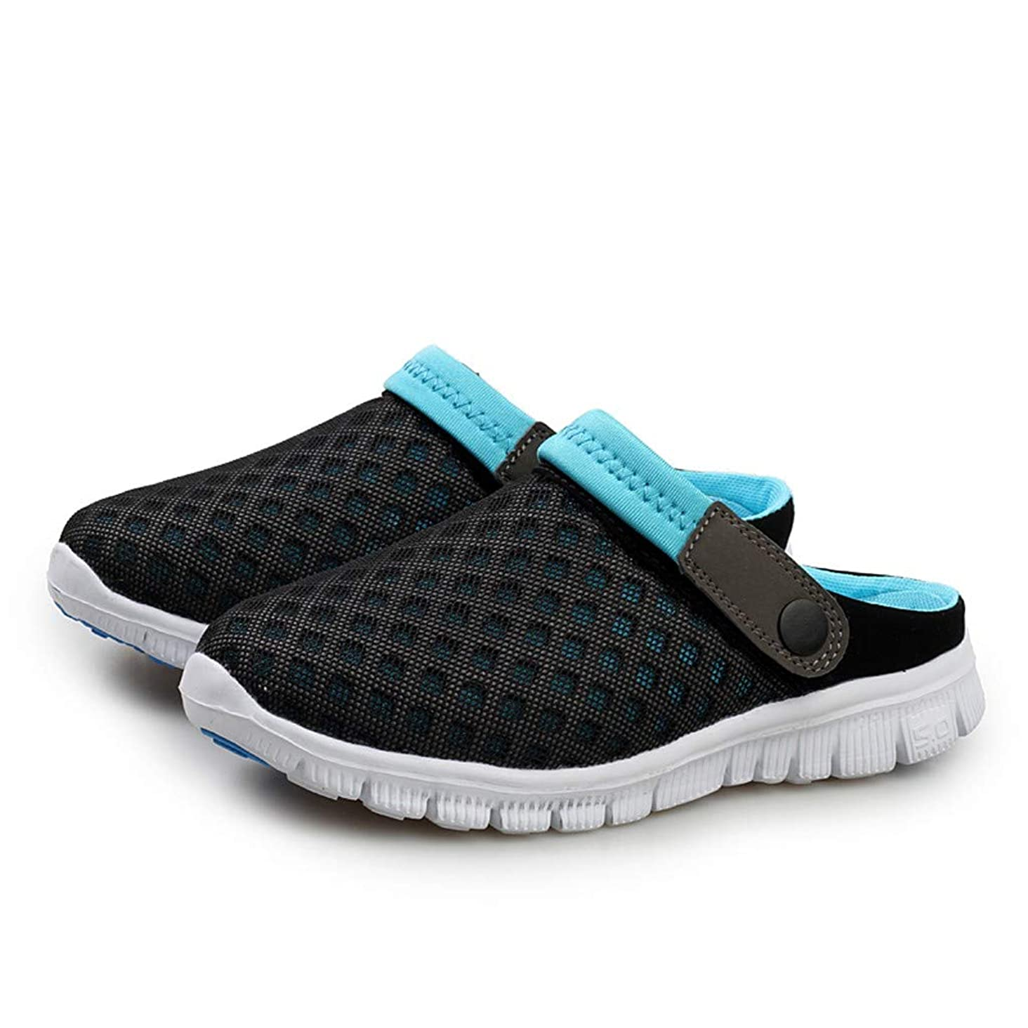 SOOTOP Mens Womens Garden Clog Shoes Mesh Breathable Quick Drying Sandals Walking Beach Sports Lightweight Slippers Comfortable Waterproof Mule Shoes