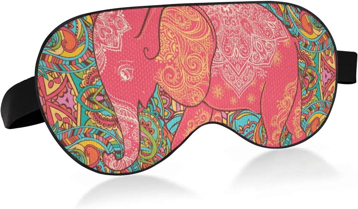 xigua Paisley Elephant Breathable Sleeping Feeli Eyes Mask Cool famous New mail order