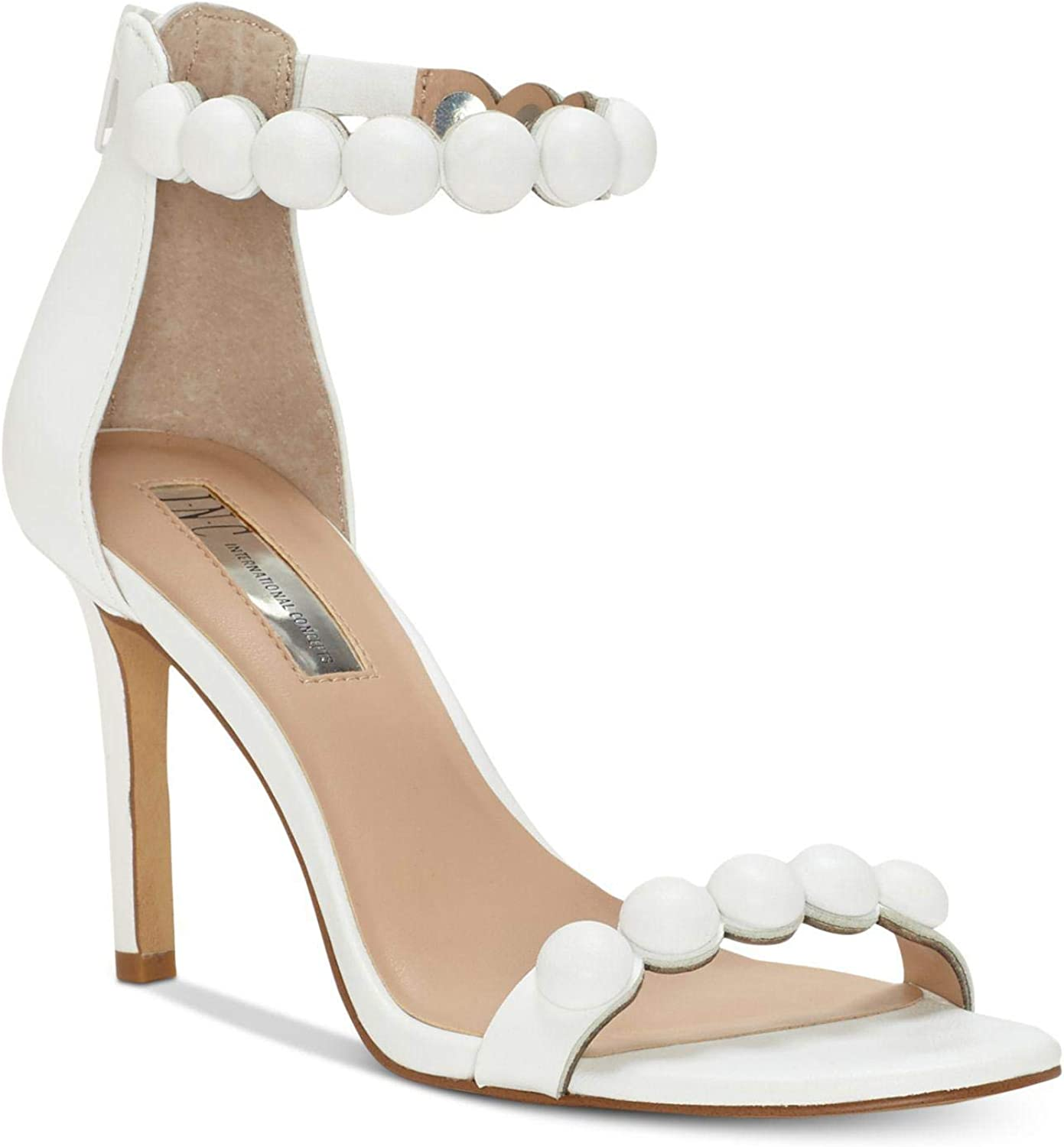 Inc Womens Gabbye Solid Ankle Strap Dress Sandals