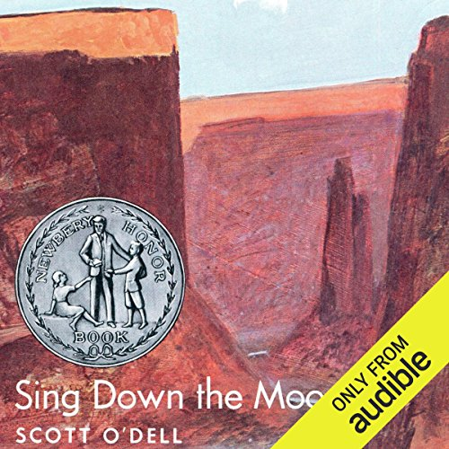 Sing Down the Moon  audiobook cover art