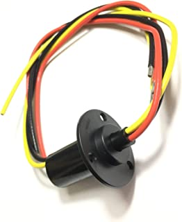 Taidacent 3 Wires 4 Wires 5A 10A 15A 30A Electrical Slip Ring Collector Ring Rotary Electrical Contact Joint Rotary Connec...