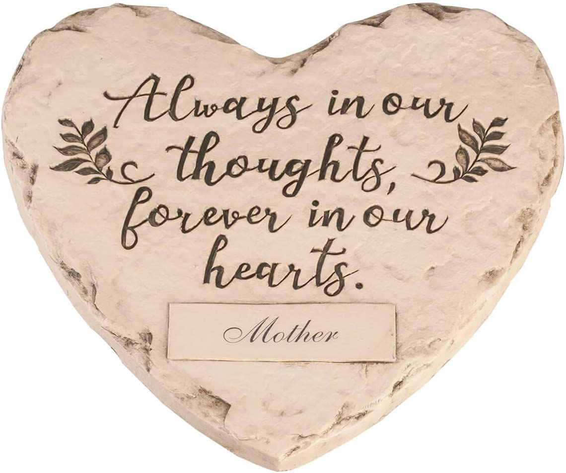 Fox Valley Traders Free Shipping New Personalized Garde 67% OFF of fixed price Heart-Shape Resin Memorial
