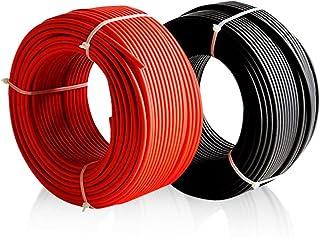 Enerflex Cable Solar Ø6mm Rojo y Negro - 10mtrs Rojo / 10mtrs Negro