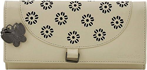 Butterflies Women Wallet (Cream) (BNS 2413CRM)