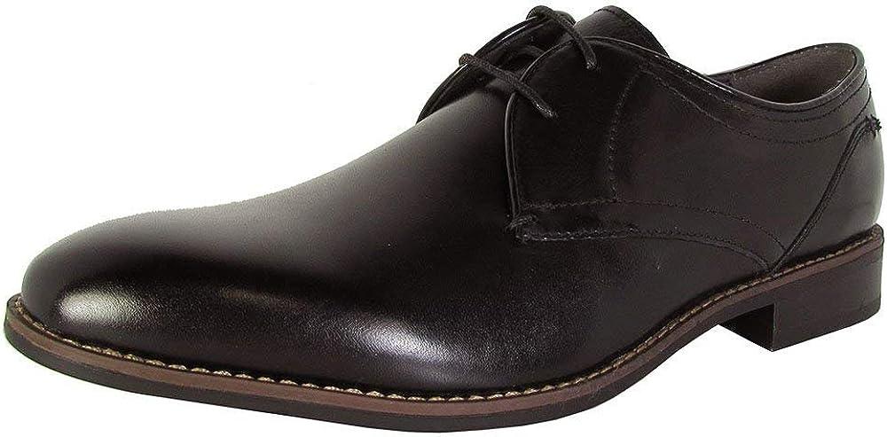 Steve Madden Mens P-Mister Lace Up Oxford Dress Shoes