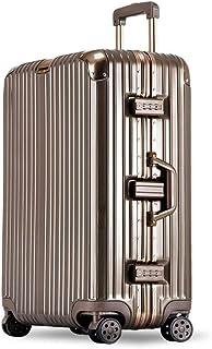 YCYHMYF Trolley Maleta Contraseña Caja ABS + PC Material TSA Lock Equipaje