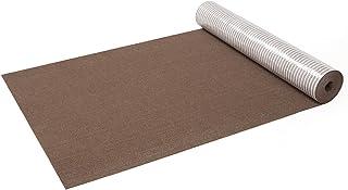 サンコー はっ水 消臭廊下敷きマット カーペット マット おくだけ吸着 ロングマット 60×300cm ブラウン KH-69