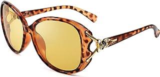 Karsaer Oversized Luxury Night Vision Women Polarized Glasses Large Women Night Driving Polarized Glasses K6026