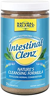 Natural Balance Intestinal Clenz - Psyllium Herbal Cleansing Powder - Healthy Digestion, Detox & Regularity Supplement - G...