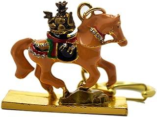Feng Shui Brown Tribute Horse Keychain W Fengshuisale Red String Bracelet W2397
