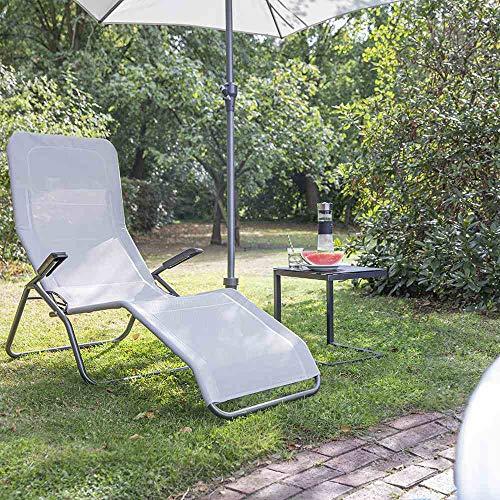 Siena Garden Anco Tumbona basculante, Gris