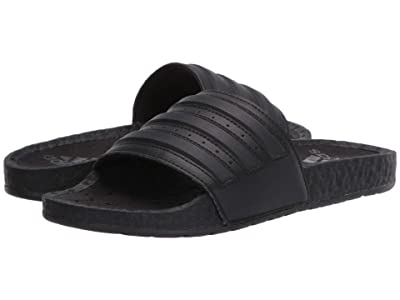 adidas Adilette Boost (Core Black/Core Black/Core Black) Athletic Shoes