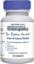 Dr. Barbara Hendel Relief Tablets, Pain & Injury, 100 Count