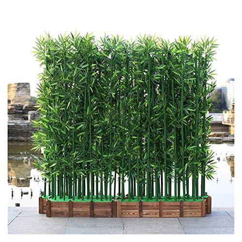 Künstliche Pflanzen 100/150 / 180cm Gefälschte Bambuspflanze Hotels Landschaftsbau Home Decor Innen Faux Pflanzen Zimmerpflanzen Bonsai (Color : 10pcs 100cm no Pot)