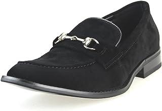 [アンバイルシウス] カジュアルシューズ メンズ ビットローファー スリッポン ドレスシューズ Uチップ モカシン 紳士靴 春靴 【 APT366SZ-1 】