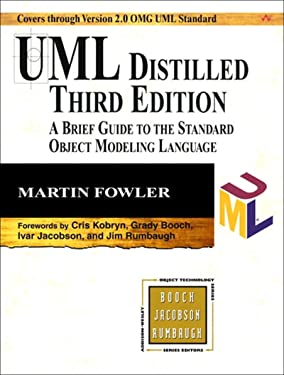 UML Distilled: A Brief Guide to the Standard Object Modeling Language (Addison-Wesley Object Technology Series)