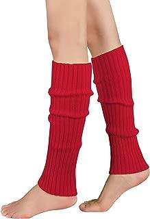 Durio Stulpen Damen Beinwärmer Winter Legwarmers Lange Ballettstulpen in vielen Farben