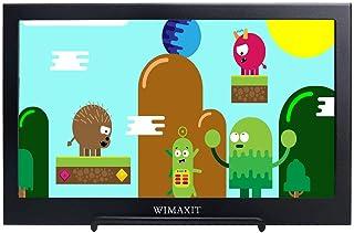 WIMAXIT Monitor HDMI portátil de 11,6 Pulgadas, Pantalla Full HD 1080P 16:9, Altavoces duales alimentados por USB para PS...