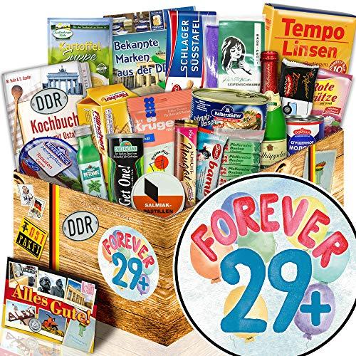 Forever 29 + / Geschenk zum 30. Geburtstag Frau / Spezialitäten DDR Artikel