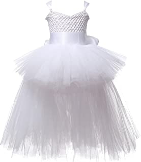 Little Girls Cute High Low Layered Tutu Summer Dresses Birthday Party Special Occasion Dress up