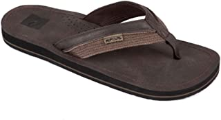 Rip Curl Men's Ox Thong Sandals, Chocolate, 8 US