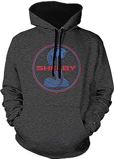Men's Shelby Cobra Emblem Two Tone Hoodie