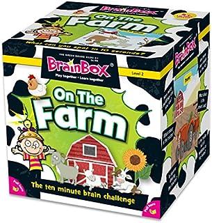 Green Board Games GRE90047 BrainBox On The Farm