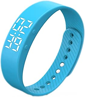 [Upgrade Version]Smart Pedometer Watch, Non-Bluetooth Pedometer,Vibration Alarm, Sport Bracelet, Fitness Tracker, Smart Sport Band with Timer Step Calories Counter Distance Time / Date,Smart Watch for Walking Kids Women Men