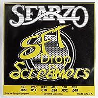 SFARZO ドロップDチューニング用ギター弦 .009-.048 SFT Screamers Electric Guitar Strings 3140DD スファーゾ エスエフティスクリーマー エレクトリックギターストリングス ライトゲージ ヘヴィボトム 国内正規品