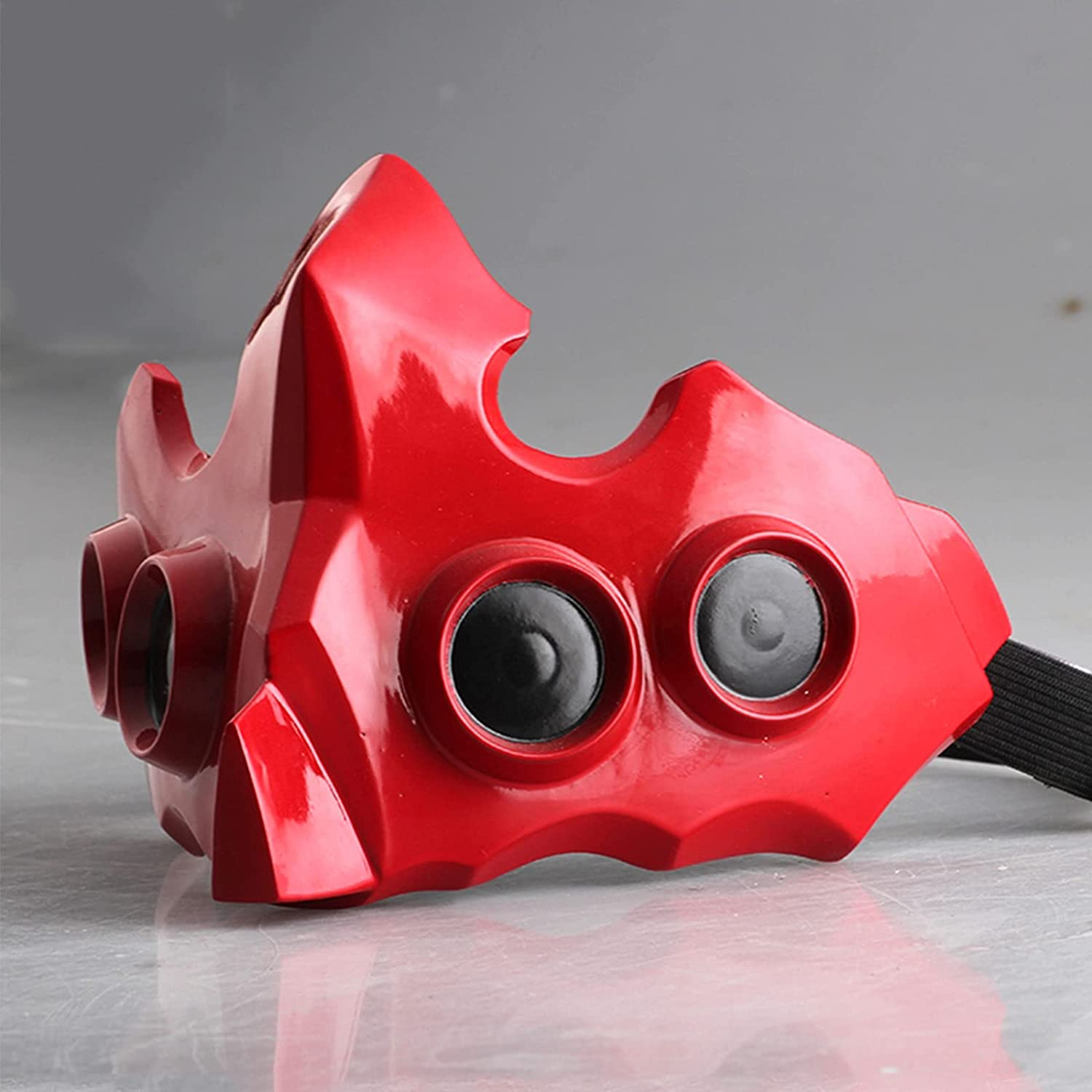 Hewufo Tokyo Ghoul Tatara Red Chicago Chicago Mall Mall Replica 1:1 Cosplay Mask