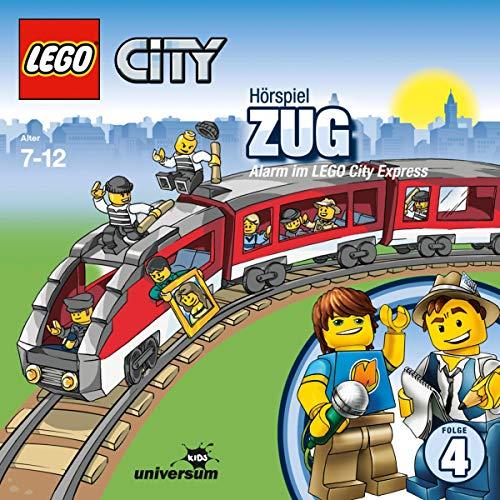 Zug - Alarm im Lego City Express Titelbild
