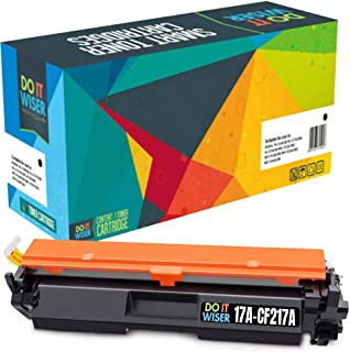 Do it Wiser Compatible Toner Cartridge Replacement for HP 17A CF217A Laserjet Pro M102w MFP M130fw M130nw M130fn | with Chip (Black)
