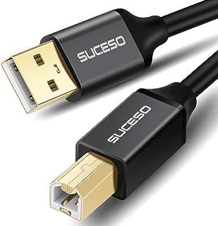 Cable Impresora SUCESO Cable para Impresora 2 Meters Cable