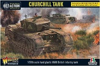 Bolt Action Churchill Infantry Tank 1:56 WWII Military Wargaming Plastic Model Kit