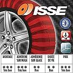 ISSE C60066 Chaînes en Textile Neige Tribologic Classic, Taille 66 #1