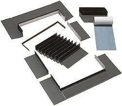 VELUX EDL C01 0000B Skylight Flashing, C01/C04/C06 Low-Profile Flashing w/Adhesive Underlayment for Deck Mount Skylights
