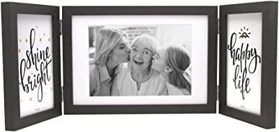 Amazoncom Afuly Rustic Three Picture Frame 4x6 And 5x7 Wooden
