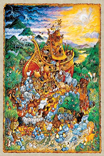 WLH- For kinderen educatieve Bouwstenen invoegen Toys Adult Custom Landschap Cartoon Anime Puzzel Gift puzzel Kids Puzzles Educatief speelgoed 6 jaar Olds Jigsaw 1000pc (Color : A)