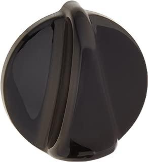 GE Part Number WB03T10139 GAS VALVE KNOB BLACK