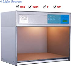 color viewing cabinet