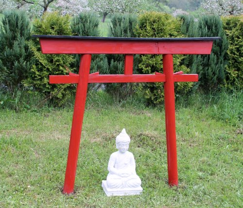 AAF Nommel®, Torii 03 Japanstyle für Haus und Garten Holzbogen Torbogen Tor