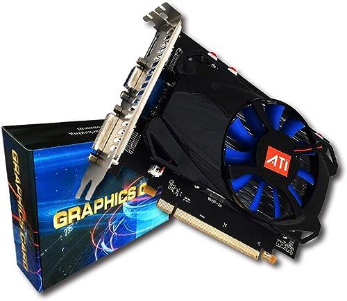 salida R7-350 4G Gaming Tarjeta de gráficos de de de vídeo para la Mesa 4G GDDR5 de 128 bits HDMI y VGA y DVI Puerto Soporte de resolución 4K  mejor precio
