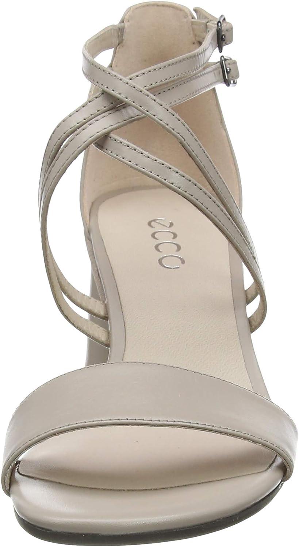 ECCO Elevate65blocksandal Zapatos de Tac/ón Mujer