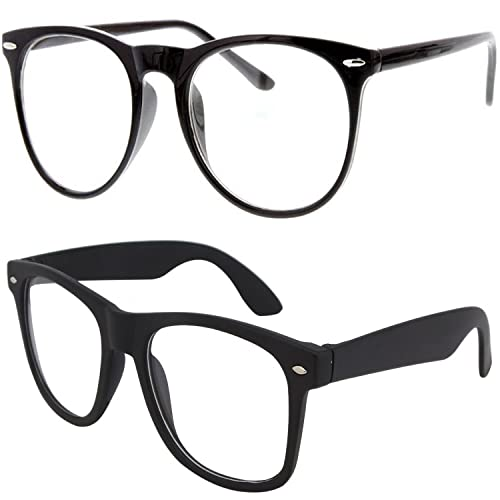 4e91c378e98 Y S Round Cateye Women s Men s Boy s Girl s Spectacle Frame  (Clear-Cateye-Selfy-