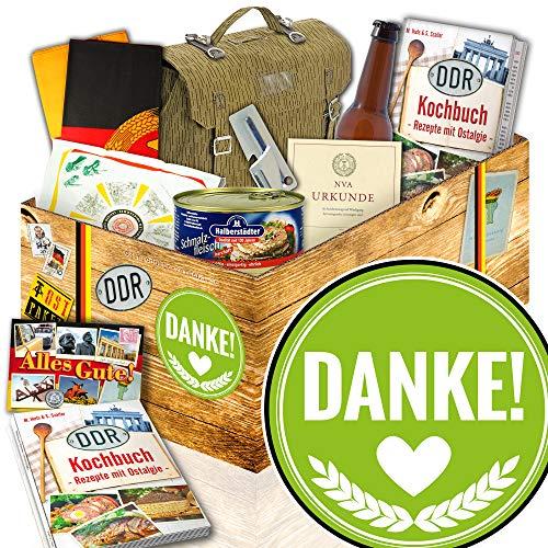 Danke / DDR Geschenkbox / NVA Paket / Geschenke Danke sagen
