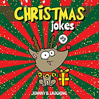 Christmas Jokes: Funny Christmas Jokes and Riddles for Kids cover art
