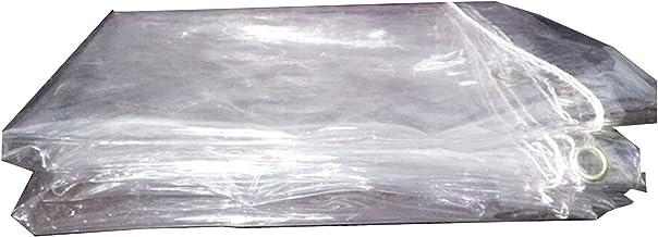 Schaduw en regendicht pooltafelhoes Transparant Tarpauli, Waterdicht Clear Heavy Duty Stofdicht Regendicht Tarp Cover, Voo...