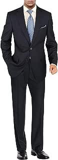 Men's Suit Modern Two Button 2 Piece Striped